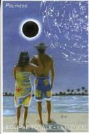 """Entier Postal De 2010 Sur CP Avec Timbre Et Illust. """"Eclipse Totale - 11 Juillet 2010"""" - Postal Stationery"""
