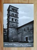 Rm2107)  Albano Laziale - Chiesa Di S. Pietroe Campanile Romanico - Roma