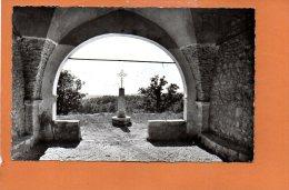 06 Saint Vallier De Thiey : La Croix De La Chapelle Sainte Luce (écrite Et Oblitérée) - Vence