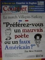 Courrier International   N°776   15 Sep 2005 : Le Match Sarko-villepin - General Issues