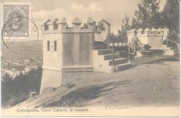 CONCEPCION CERRO CARACOL LA CUMBRA CPA CIRCULEE 1936 A ROSARIO DE SANTA FE ARGENTINA  RARE - Chili