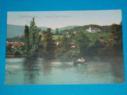 Allemagne ) N° 4648 - Ilsenburg , Harz - Teich Mit Hotel Waldhohe -  Année - EDIT : Glaser - Ilsenburg
