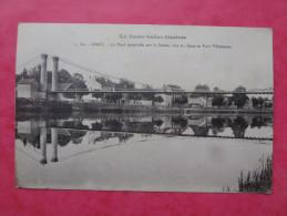 Cpa 70 GRAY  Pont Suspendu, Quai, Port Villeneuve - Gray