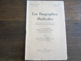 LES BIOGRAPHIES MEDICALES ANTOINE ATHANASE ROYER COLLARD 2 ANNEE N 24 DECEMBRE 1928 - Sciences