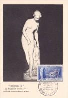 France N°1094 - Manufacture Nationale De Sèvres - Carte Maximum - 1950-59
