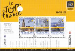 Nederland - Uitgifte 4 Juli 2015 - Tour De France 2015 - Le Grand Départ - Neeltje Jans/Erasmusbrug/Domtoren - MNH - Netherlands