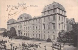 DARMSTADT GROSSH RESIDENZSCHLOSS MARKT UND SCHILLERPLATZ - Darmstadt