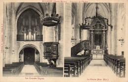 52 ECLARON  Intérieur De L'Eglise - Les Grandes Orgues , La Chaire - Eclaron Braucourt Sainte Liviere