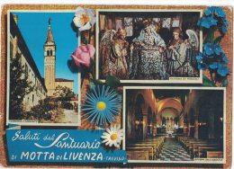TV141     Treviso -   Motta Di Livenza, Saluti Dal Santuario Di Motta Di Livenza - Treviso