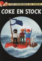 Carte Tintin Kuifje Tim : ELYSA 01/21 COKE EN STOCK (fictif Hergé) 2 - Cómics