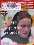 Courrier International   N°857   5 Avr 2007 : L'iran , Les Otages , Le Nucleaire Et Israel - Informations Générales