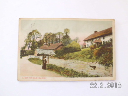 A Bit Of Old Barry. (8 - 4 - 1909) - Montgomeryshire
