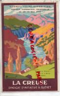 23 - GUERET - FOIRE EXPOSITION AGRICOLE-COMMERCIALE INDUSTRIELLE- 23 AU 31 MAI 1931-SYNDICAT INITIATIVE - Guéret