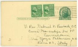 STORIA POSTALE - AMERICA - UNITED STATES POSTAGE - AMERICAN ESPERANTIST - NEW YORK - ANNO 1911 - SAVE THE EASY WAY BUY U - America Centrale
