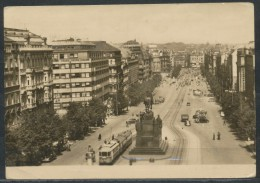 Tschechien - Praha - Vaclavske Namesti    Strassenbahn - Tschechische Republik