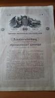 4001b: Aktie Niederösterreichisches Eisenbahn- Landes- Anlehen 1903 - Chemin De Fer & Tramway