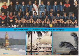 FRANKFURT - SG HOECHST ON TOUR IN MALAYSIA 1988 - FOOTBALL - FUSSBALL - Frankfurt A. Main