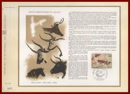CEF N° 59 Grotte Préhistorique De Lascaux Montignac 1968 N° 1555 Préhistoire ((PJ Cote XX) - Documenten Van De Post