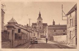 DOULEVANT LE CHATEAU RUE BASSE ET L'EGLISE (LF) - Doulevant-le-Château