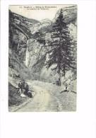 38 - Isère - DAUPHINE Vallée Du Graisivaudan La Cascade De Craponoz - 154 E. R. - Animation Chien - France