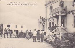MAROC .  CASABLANCA.   LE REPAIRE DES ESPIONS BOCHES.  DANS LE ROND KARL FICK ET GRANDIER QUI FURENT FUSILLES.  CPAA - Casablanca