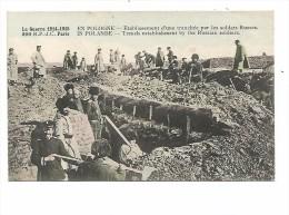 EUD.237/ En Pologne - Etablissement D'une Tranchée Par Les Soldats Russes - Guerre 1914-1915 - Polen