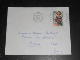 PARIS GARE MONTPARNASSE - FLAMME MUETTE SECAP SUR YT 1449 ACCUEIL AMABILITE - Mechanical Postmarks (Advertisement)