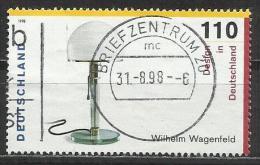 1998 Germania Federale Usato - N. Michel 2003 Da Block N. 45 - [7] Repubblica Federale