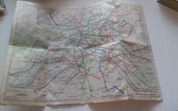 PARIS Plan Metro - France