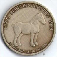 2575 Vz H.R.G. Peerdenfeesten 1984 – Kz Torhout 100 Wyndaelers - Jetons De Communes