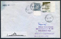 1975 Norway Haakonsvern KNM SKLINNA Submarine Cover - Norway