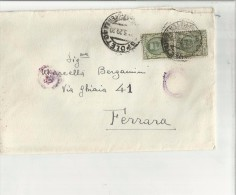 101160 ANTICA BUSTA CON VECCHI FRANCOBOLLI - Trieste