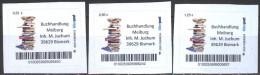 Biber Post 3 Mkn Buchhandlung Meiburg 0,52-0,85-1,25 - BRD