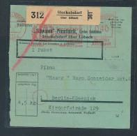 Paket Karte - Stockelsdorf (be2858 ) Siehe Scan - Storia Postale