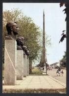 USSR 1979 Moscow. Alley Astronauts, Space. Gagarin, Tereshkova, Cosmonauts