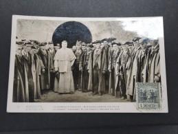 ANDORRE ESPAGNOL - Rare Carte Maximum Du Co-Prince Et Les Conseillers Des Vallées Avec N° 24A  - A Voir - P16848 - Andorra Española