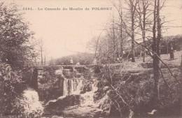 Cp , 29 , LE FOLGOËT , La Cascade Du Moulin - Le Folgoët