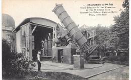 PARIS - Observatoire De PARIS - Grand Télescope - Arrondissement: 14