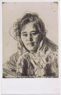Cpa   Anders Zorn  KRAKBERGS ANNA ETSNING - Illustrateurs & Photographes