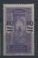 DAHOMEY : Y&T* N° 66 - Dahomey (1899-1944)