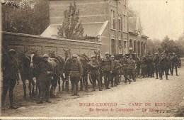 BOURG-LEOPOLD CAMP DE BEVERLOO : En Service De Campagne - Cachet De La Poste 1923 - Leopoldsburg (Kamp Van Beverloo)