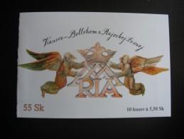 2002.  Booklet/postzegelboekje  Kerstmis, Weihnachten, Christmas (bkgrf238) - Slovaquie