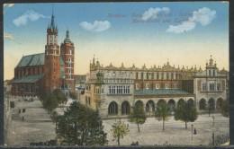 Polen   -     Krakau Polen Tuchhalle                            Feldpost - Polen