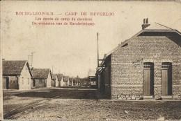 BOURG-LEOPOLD CAMP DE BEVERLOO : Les Carrés Du Camp De Cavalerie- Cachet De La Poste 1923 - Leopoldsburg (Kamp Van Beverloo)