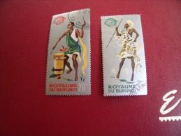 Timbres  De Collection   Burundi    Cob  Lot 15-- 1965  N°  154-160 - 1962-69: Oblitérés