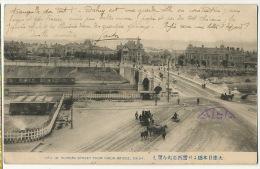 Dalny View Of Russian Street From Nihon Bridge 1912 Via Siberie Nagasaki Chemulpo Mokupo Sino Japanese War - Russia