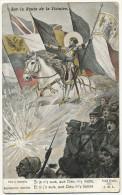 WWI Signed Solomko Tirailleur Senegalais , Cosaque, Hindou Etc Jeanne Arc  Red Cross Croix Rouge Dames Françaises - Russia