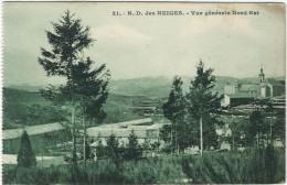 Lozere : Notre Dame Des Neiges,  Vue Générale Nord-Est - France