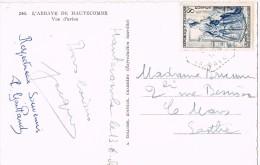 16877. Postal HAUTECOMBE  (savoie) 1954. Vue D'avion D'abbaye Hautecombe - Francia