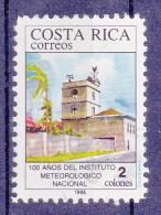 COSTA RICA - 1988 - National Meteorological Institute 100 Years  -   Ongebruikt/No-Usado/New/Neuf  ** - Costa Rica
